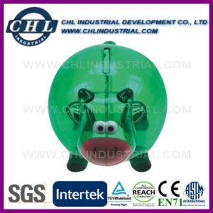 Customized Logo Animal Shape Manufacturer Plastic Saving Coin Bank pictures & photos
