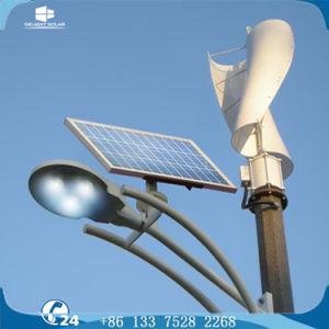 12V/24VDC Vertical Wind Turbine Solar Hybrid LED Street Lamp Lighting pictures & photos