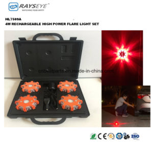 4 Pack High Power Rechargeable Warning Case pictures & photos