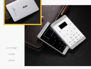 M3 Ultra Thin Card Mobile Phone Pocket Mini Phone Bluetooth Phone pictures & photos