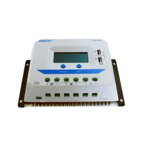 Epsolar 45A 12V/24V Solar Regulator with Dual USB 2.4A Vs4524au pictures & photos