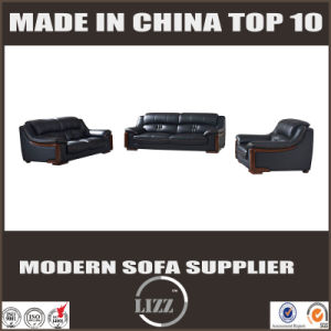 1+2+3 Leather Sofa with Tight Back pictures & photos