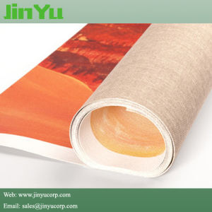 240GSM Aqueous Inkjet Print Matte Polyester Textile Banner Canvas pictures & photos