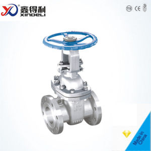 Manufacturer API600 Flanged Casted Steel Gate Valve pictures & photos