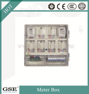 Prepaid Single Phase Power Meter Box/Electric Meter Box with PC Material pictures & photos