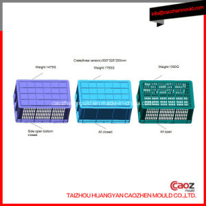Three Version Plastic Injection Crate in One Mould