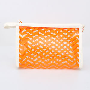 Candy Colorful Clear Plastic Makeup Bags Clear PVC Korean Cosmetic Bags pictures & photos