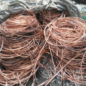 Fatory Hot Sale High Purity 5mm Copper Wire Scrap pictures & photos