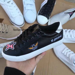 New Stocks Footwear Women Injection Canvas Shoes (FFCS505-2) pictures & photos
