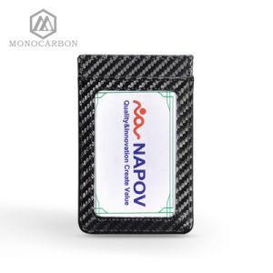 Travel Wallet Accesories for Men Carbon Fiber Popular Card Holder Business Card Case pictures & photos