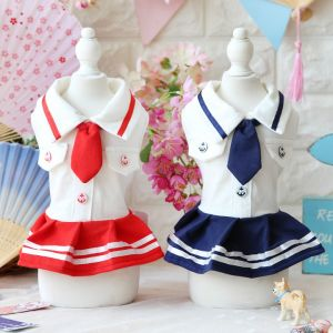 Cute School Pet Dress Fashion Clothes Dog Skirts pictures & photos