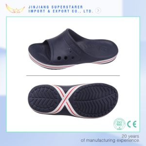 EVA Healthy Holey Welt Brand Side Binding Slipper pictures & photos