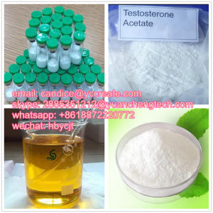 Bodybuilding Anabolic Steroid Hormone Powder Aceto-Sterandryl/Testosterone Acetate CAS 1045-69-8 pictures & photos