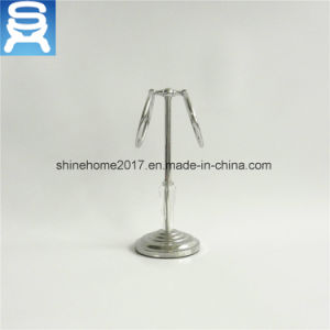 Bathroom Hardware Chrome Plated Towel Holder/Bathroom Towel Shelf pictures & photos