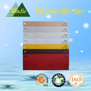 Various Texture Decorative Color Embossed Outer Packaging Paper for Gift Box pictures & photos