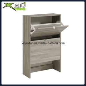 Home Living Furniture 3 Drawer Shoe Cabinet pictures & photos