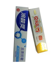 Custom Paper Toothpaste Packaging Box Factory pictures & photos