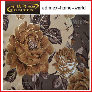 Curtain Fabric with Printed Styled-Cheap Price EDM0547 pictures & photos