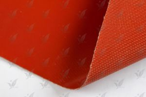 Silicone Rubber Coated Fiberglass Fabric (One Side Coated) pictures & photos