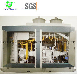 5500nm3/H Displacement Gas Compressor for Gas Station pictures & photos
