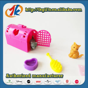 Funny Plastic Mini Animal Set Toy with Cheap Price pictures & photos