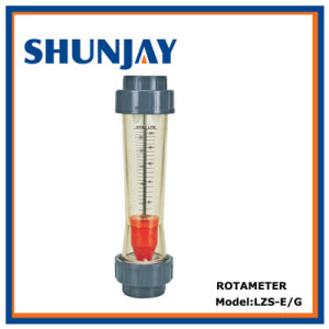 Durable Plastic Tube Type Flow Meter pictures & photos