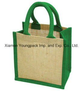 Fashion Custom Printed High Quality Large Reusable Shopping Tote Hessian Bags pictures & photos