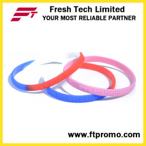 2016 Hot Selling Sports Silicone Wristband with Logo pictures & photos