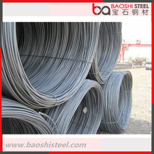 Reinforce/ Deformed Steel Wire Rod Q195 pictures & photos