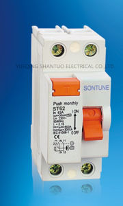 Sontune St60-40A Series RCCB 2p 4p RCCB/Residual Current Circuit Breaker pictures & photos