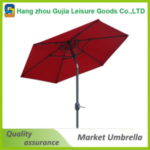2.7m Customized Waterproof Convenient Easy up Market Umbrellas