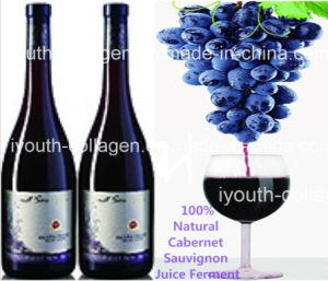 Top Wine, EU Pure Natural Cabernet Sauvignon Wine/Antique of Elegant Brut, 100% Juice Brewing, Rich Anthocyanin, Amino Acids, Anticancer, Antiaging, Blood Tonic pictures & photos
