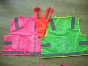 Safety Vest for Kids with Different Print Pattern pictures & photos