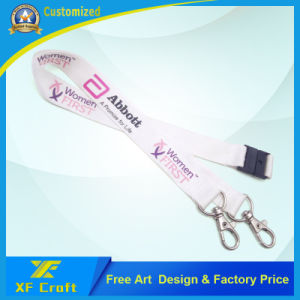 Personality Custom All Kinds of Polyester Lanyards for Promotion (XF-LY03) pictures & photos