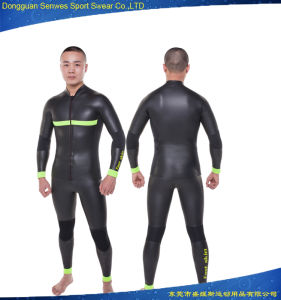 Neoprene Smoothskin Front Zip Long Sleeve Diving Wetsuit (Won 2016 MEI Excellence Award) pictures & photos