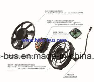 Truck Air Conditioner Axial Fan 12V OEM China Supplier pictures & photos