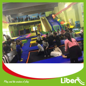 Commercial Indoor Trampoline Area with Ninja Course pictures & photos