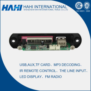Q9 MP3 Player Circuit Decoder Board with Remote Control pictures & photos
