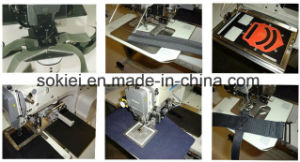 Automatic Computerized Shoe Upper Electronic Pattern Programmable Industrial Sewing Machines pictures & photos