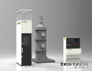 Testech Bunched Cable Vertical Flame Spread Testing Machine, (FTech-IEC60332-3) pictures & photos