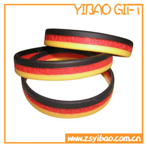 Promotion Gift Custom Silicone Bracelet Rubber Wristband Silicone Wristband (YB-HR-379) pictures & photos