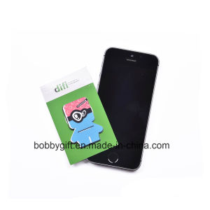 Wholesale Microfiber Silicone Cell Phone Cleaner Sticker pictures & photos