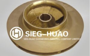 Brass Impeller with Lost Wax Casting