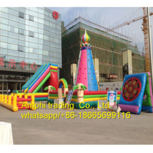 Hot Sale Big Inflatable Climbing Wall, Inflatable Rock Climbing