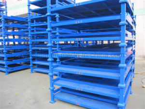 Warehouse Storage Folding Rack Pallet Stacking Frames pictures & photos