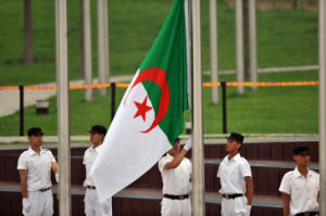 Custom Waterproof and Sunproof National Flag Algeria National Flag Model No.: NF-062 pictures & photos