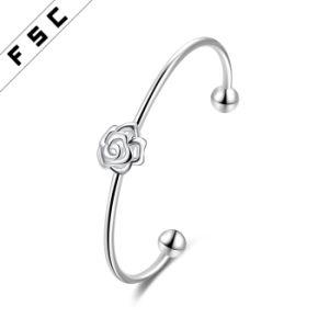 Wholesale Simple Design Elegant Rose Bracelet for Girl pictures & photos