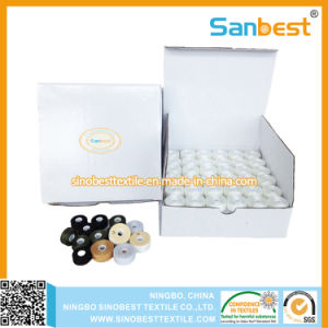 Chinese Factory of Pre-Wound Bobbins Thread for Embroidery pictures & photos