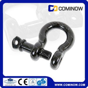 Screw Pin Anchor Shackle Drop Forged Us Type / Heavy Duty Shackle for Jeep Bow Type pictures & photos
