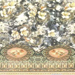 Digital Print Chiffon Silk Fabric (XF-0067) pictures & photos